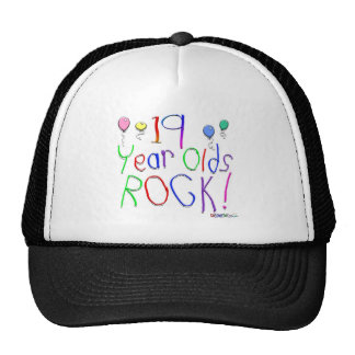 19 Year Olds Rock! Hat