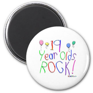 19 Year Olds Rock! Magnet
