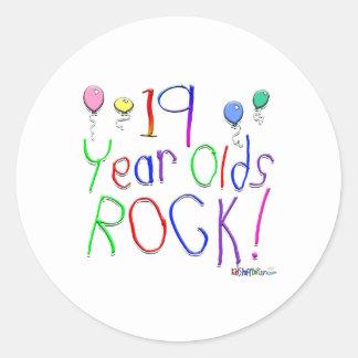 19 Year Olds Rock! Sticker
