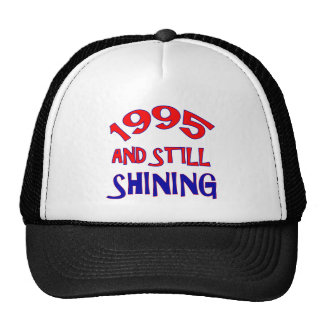 19 years Old birthday designs Mesh Hat