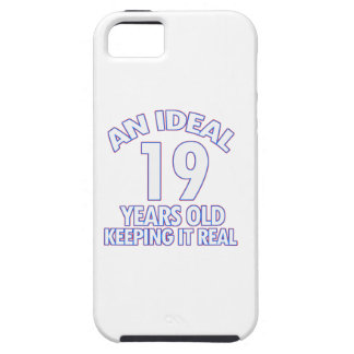 19 YEARS OLD BIRTHDAY DESIGNS iPhone 5 COVERS