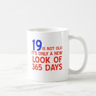 19 years Old birthday designs Mug