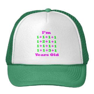 19 Years Old Magenta Gr Mesh Hat
