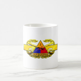 19D 1st Armored Division Classic White Coffee Mug