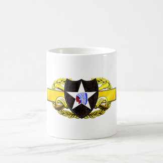 19D 2nd Infantry Division Classic White Coffee Mug