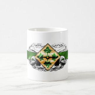 19K 4th Infantry Division Classic White Coffee Mug
