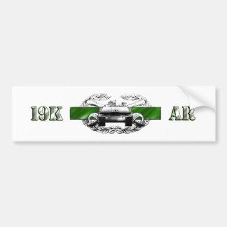 19K Armour Bumper Sticker