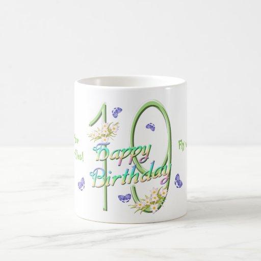 19th Birthday Butterfly Dance Mug