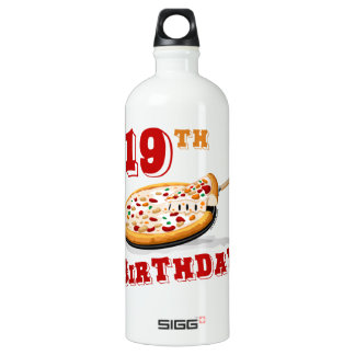 19th Birthday Pizza Party SIGG Traveller 1.0L Water Bottle