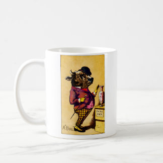 19th C. Bull in a China Shop Coffee Mug