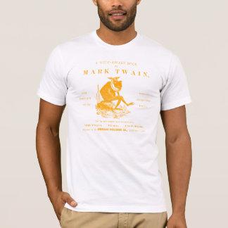 19th C. Marks Twains Jumping Frog, orange T-Shirt