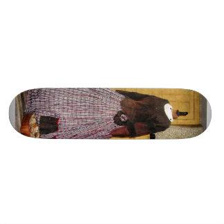 19th Century Plaid Dress Skate Boards