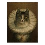 19th Century Vintage Cat Painting