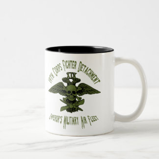 19th Corps Fighter Cup Green Two-Tone Mug