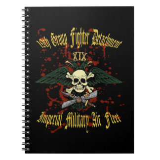19th Group Fighter Notebook Colour