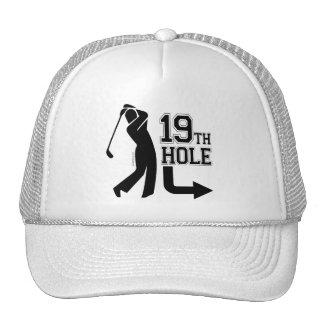 19th Hole Around Back Mesh Hats