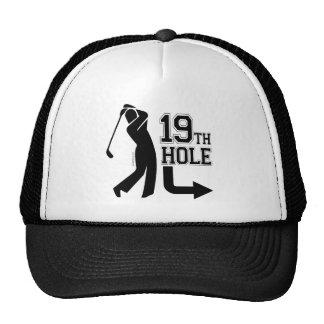 19th Hole Around Back Hats