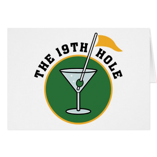 19th Hole Greeting Cards