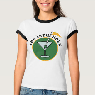 19th Hole Golf t-shirt