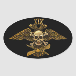 19th Imperial Fighter Detachment Oval Sticker
