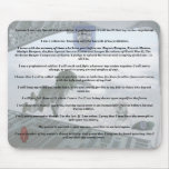 19th special forces creed camp williams veterans   mousepads