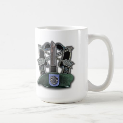 19th Special forces green berets veterans vets Coffee Mug