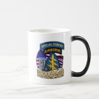 19th Special forces Green Berets vets flash Cup Morphing Mug