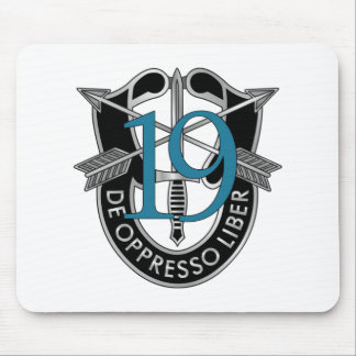 19th Special Forces Group Crest Mouse Mat