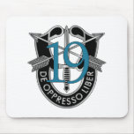 19th Special Forces Group Crest Mousepads