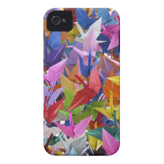 1,000 Origami Paper Cranes iPhone 4 Case-Mate Cases