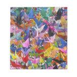1,000 Origami Paper Cranes Notepad