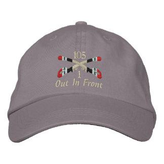 1-105th Cavalry Iraq Crossed Sabers Hat Baseball Cap