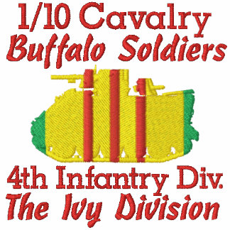 1/10th Cavalry 4th Inf. Div. M113 Track Polo Shirt