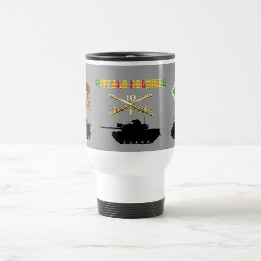 1/10th Cavalry Buffalo Soldiers AFVs Mug