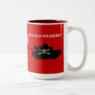 1/10th Cavalry M48A3 Patton Mug