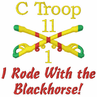 1/11th Cavalry (Your Troop) VSR Sabers Shirt