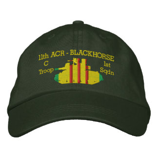1/11th M551 Sheridan Embroidered Embroidered Hat