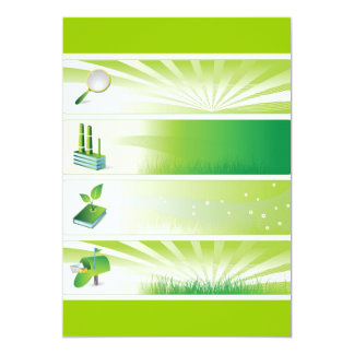 1 13 CM X 18 CM INVITATION CARD