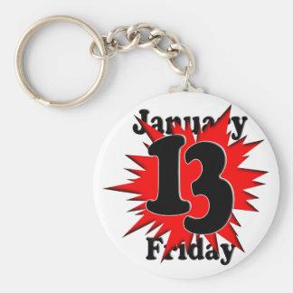 1-13 Friday the 13th Keychains