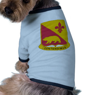 1-144th Field Artillery Battalion Pet Tee Shirt