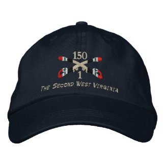 1-150th Cavalry Iraq Crossed Sabers Hat Embroidered Baseball Cap