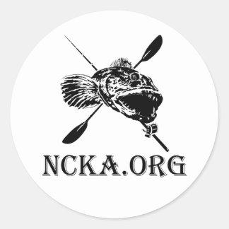 """1 1/2"""" NCKA Circle stickers"""