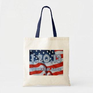 1.20.13 We take it back! Budget Tote Bag