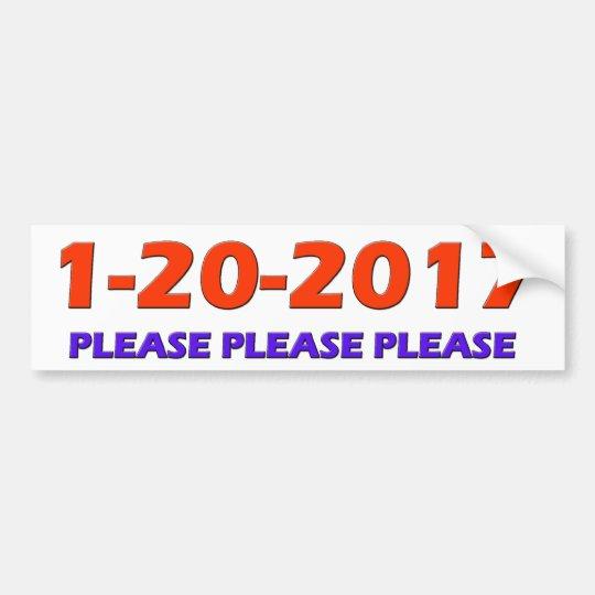 1-20-2017 BUMPER STICKER