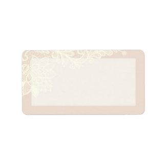 "1.25""x2.75"" Mailing Address Vintage Victorian Lace Address Label"
