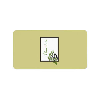 "1.25"" x 2.75"" Hershey's Japanese Green Bonsai Tree Address Label"