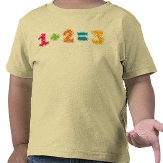 1+2=3 T-SHIRT