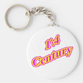 1 4 Century Magenta Keychain