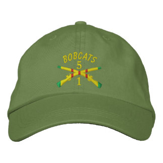 1/5th Infantry Crossed Rifles Embroidered Hat