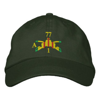 1/77th Armor Branch Insignia and Call-Sign Hat
